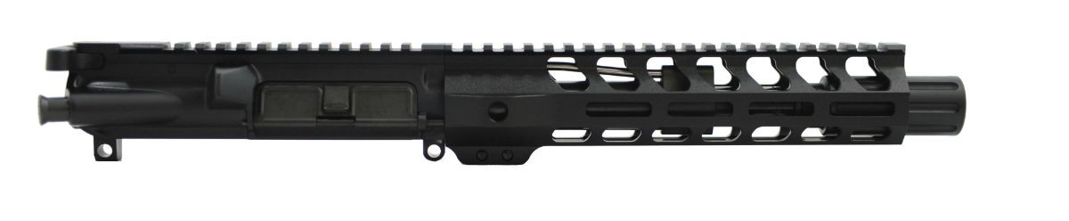 "PSA 7.5"" 300AAC Blackout 1/7 Phosphate 9"" Lightweight M-Lok Upper  With Fluted Flash Can, BCG, & CH - 5165447685"