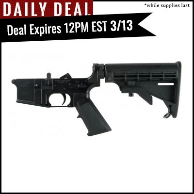 PSA AR-15 Complete Classic Lower - No Magazine - 7244