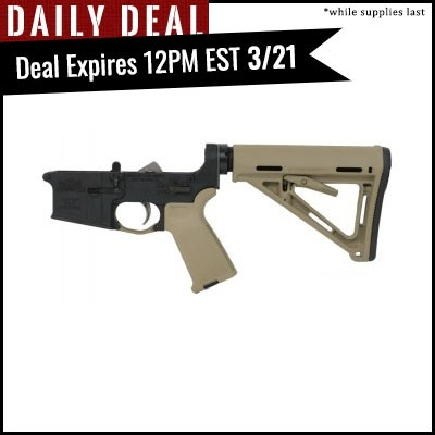 PSA AR-15 Complete Lower Magpul MOE EPT Edition - Flat Dark Earth, No Magazine
