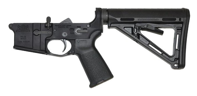 PSA AR-15 Complete Lower Magpul MOE Edition - Black, No Magazine - 5165447832