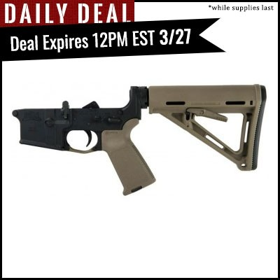 PSA AR-15 Complete Lower Magpul MOE Edition - Flat Dark Earth, No Magazine - 8857