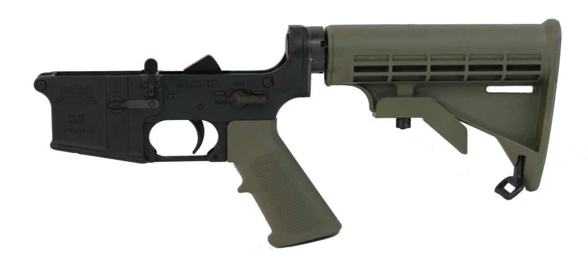 PSA AR15 Freedom Classic Lower, Olive Drab Green - 7779347