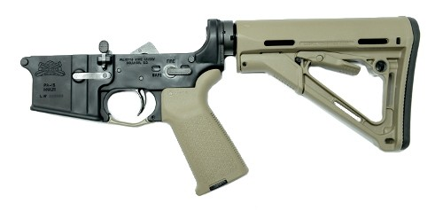 PSA AR-15 Complete Lower - Magpul CTR Edition - FDE, No Magazine - 41912