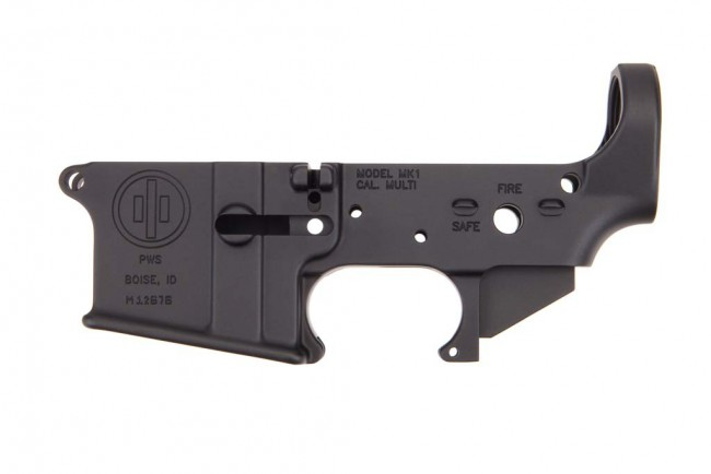 Primary Weapons Systems MK1 MOD 1 AR-15 Stripped Lower (Cannon)